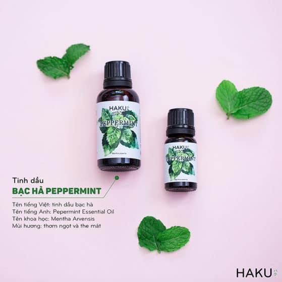 gioi thieu ve tinh dau bac ha peppermint essential oil